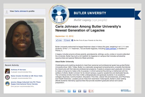 Butler Legacies Caris